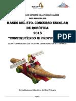 Bases Del 5to Concurso de Robotica 2018