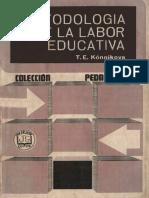 Konnikova, T. E. - Metodologia de la labor educativa.pdf