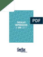 Gerflor Brochure Taralay Impression 2017 en PDF 348