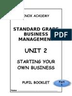 Unit 2 - Pupil Booklet Part 1