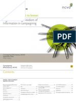 Guide to Using FoI in Campaigning