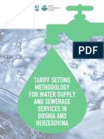 Tariff Setting Methodology for Water Supply and Sewerage Services in Bosnia and Herzegovina