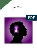 GCSE Edexcel Psychology Revision Guide
