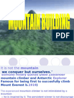 mountain building powerpoint