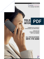 Telephone Interpreting