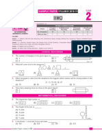 Imo Sample Paper Class-2