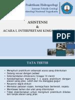 30545_Acara 1_Interpretasi Kimia Airtanah