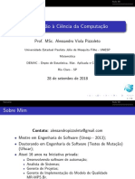 UNESP 2018 Introducao a Ciencia Da Computacao Aula 08
