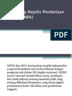 Wewenang MPA
