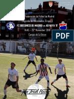 FC Britanico Matchday Programme 25th November 2018