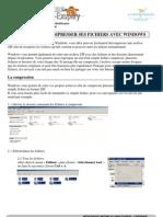 Tutoriel Compression de Fichiers Avec Windows