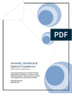Accoustic Chemical & Optical Transducers