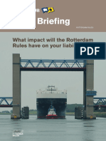 Comparison Between Rotterdam Hague Visby and Hamburg