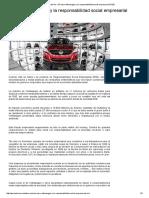 El Caso Volkswagen y La Responsabilidad Social Empresarial (RSE)