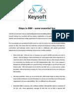 Steps to Bim implementation