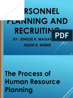 Planning and Recruiting