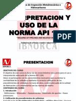 INTERPRETACION Y USO DE LA NORMA API 1104.pdf
