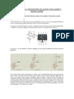 Transmisión y Recepción de Audio Con Lm386 y Diodo Laser