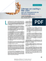Liderazgo con coaching