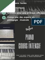 Belfort - Piano - Cours Intensif
