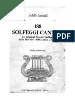 Achille Schinelli - 188 Solfeggi Cantati dei migliori autori italiani dalla fine del 1500 fino a .pdf