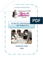 Plan de Contingencia i.e Rosa de America