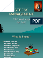 Stress Management122