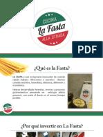 Brochure Franquicia La Fasta