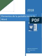 Tabla de Word