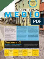 Puesta a Punto Para Medio Maratón