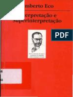Interpretacao e Superinterpreta - Umberto Eco-compressed