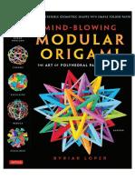 Loper, Modular Origami