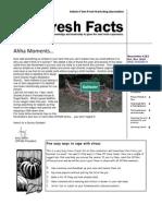 Fresh Facts - Oct-Nov 2010