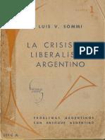 Sommi - La crisis del liberalismo argentino.pdf