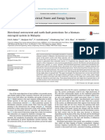 Directional Overcurrent and Earth-fault Protections for a Biomass Microgrid System in Malaysia