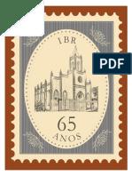 Selo IBR Comemorativo 65 Anos