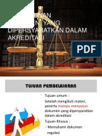 9. Penyusunan dokumen