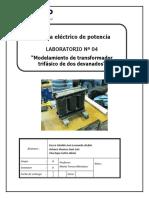Laboratorio 4 de Sistemas de Potencia