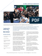 Global Advocacy Initiative Review