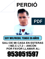 SE PERDIÓ