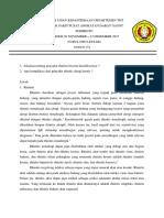 Tugas Ujian Kepaniteraan Departemen Tht