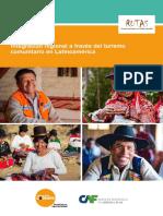 Rutas Integracion Regional a Traves Del Turismo Rural Comunitario en Latinoamerica