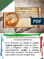 TECNICA ARTISTICA.pptx