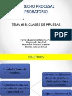 Clases de Pruebas