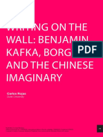 ROJAS - Benjamin, Kafka e Borges
