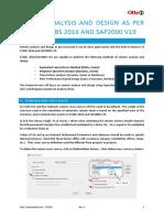 Technical Note No. TS F65 Seismic Study