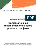 Comentario Recomendaciones Internos Extranjeros Cast