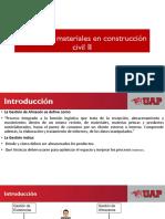 Gestión de Los Materiales de La Construcción Civil II
