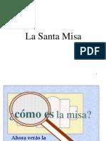 La Santa Misa p. Pablo Fernández Martos