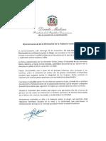 """Danilo Medina reconoce que RD  registra """"alarrnante cifra"""" de crímenes de género"""